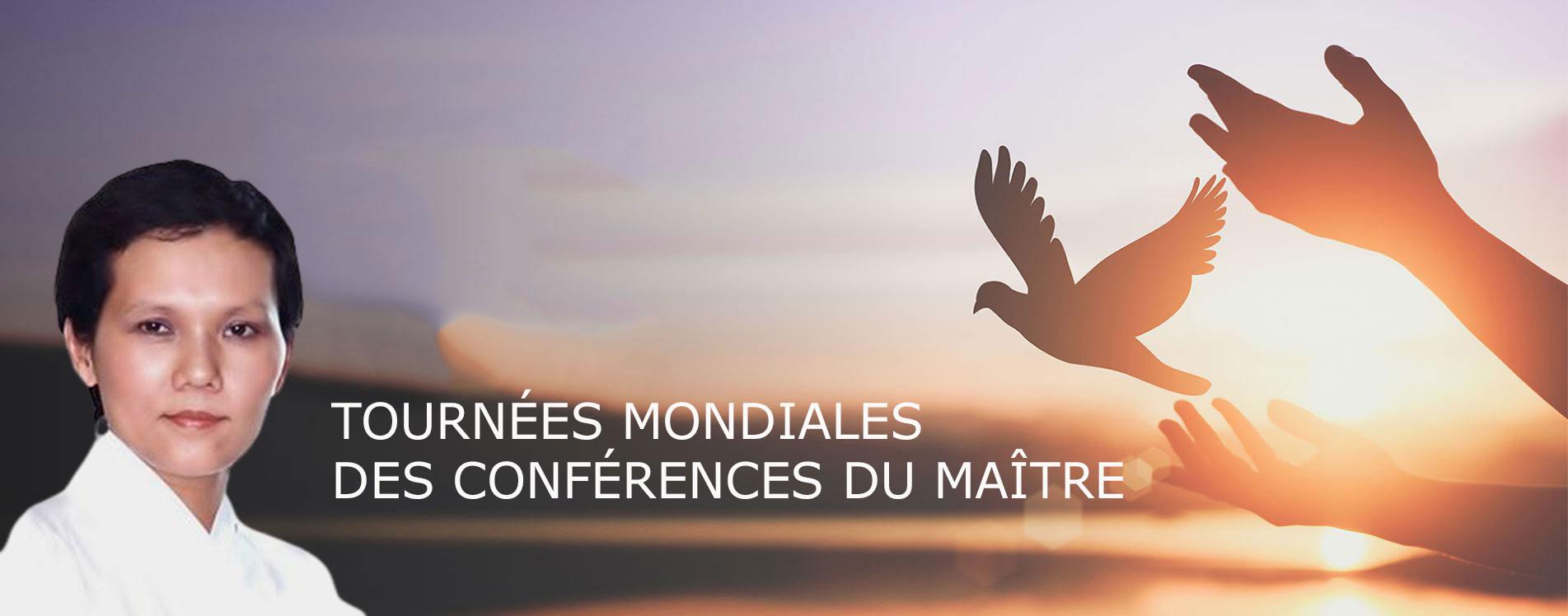 Conférences de Maître - Tournée mondiale
